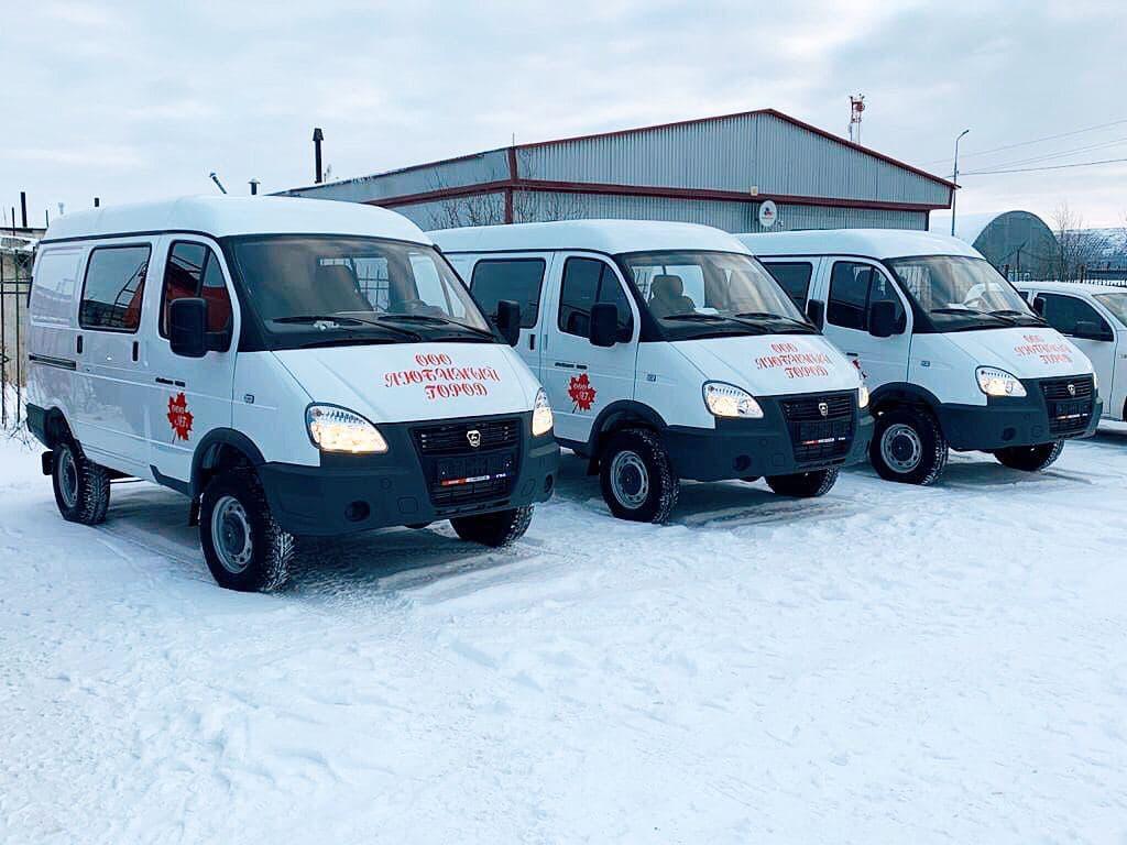 Новые ГАЗ Соболь 27527