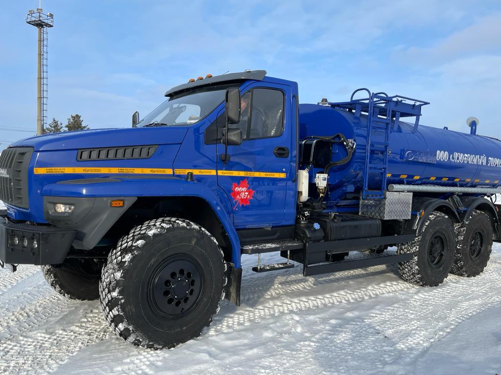 Закупили новую автоцистерну АЦПТ Урал 6620-19